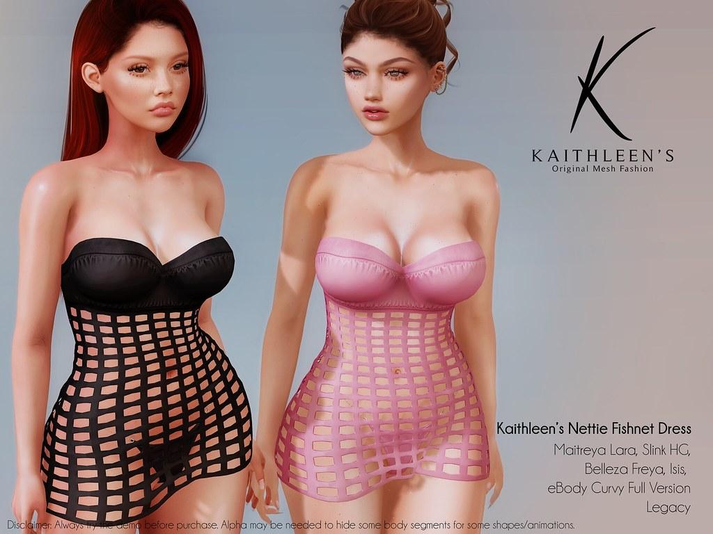 Kaithleen's Nettie Fishnet Dress – Fave&Win Campaign