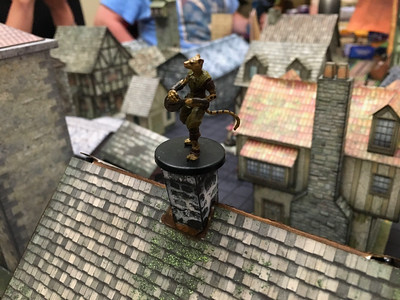 Up on the roof in Baldur's Gate