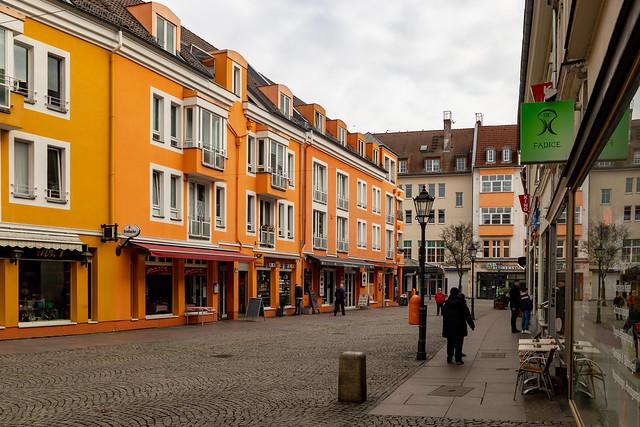 Die Havelstraße in Spandau