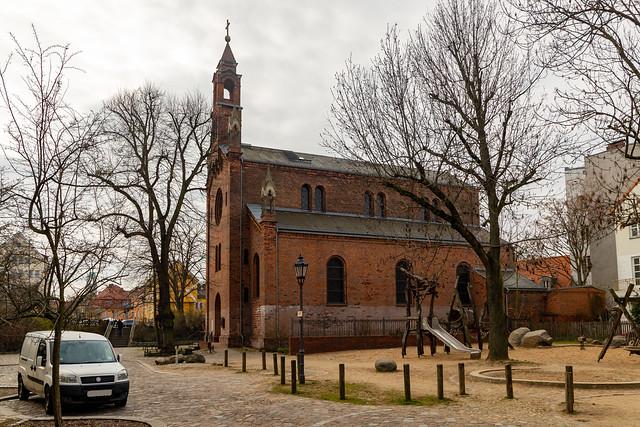 Die Kirche St. Marien in Spandau