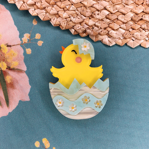 Erstwilder Happy Hatchling Brooch
