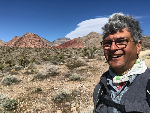 Nevada - Selfie on Calico Hike