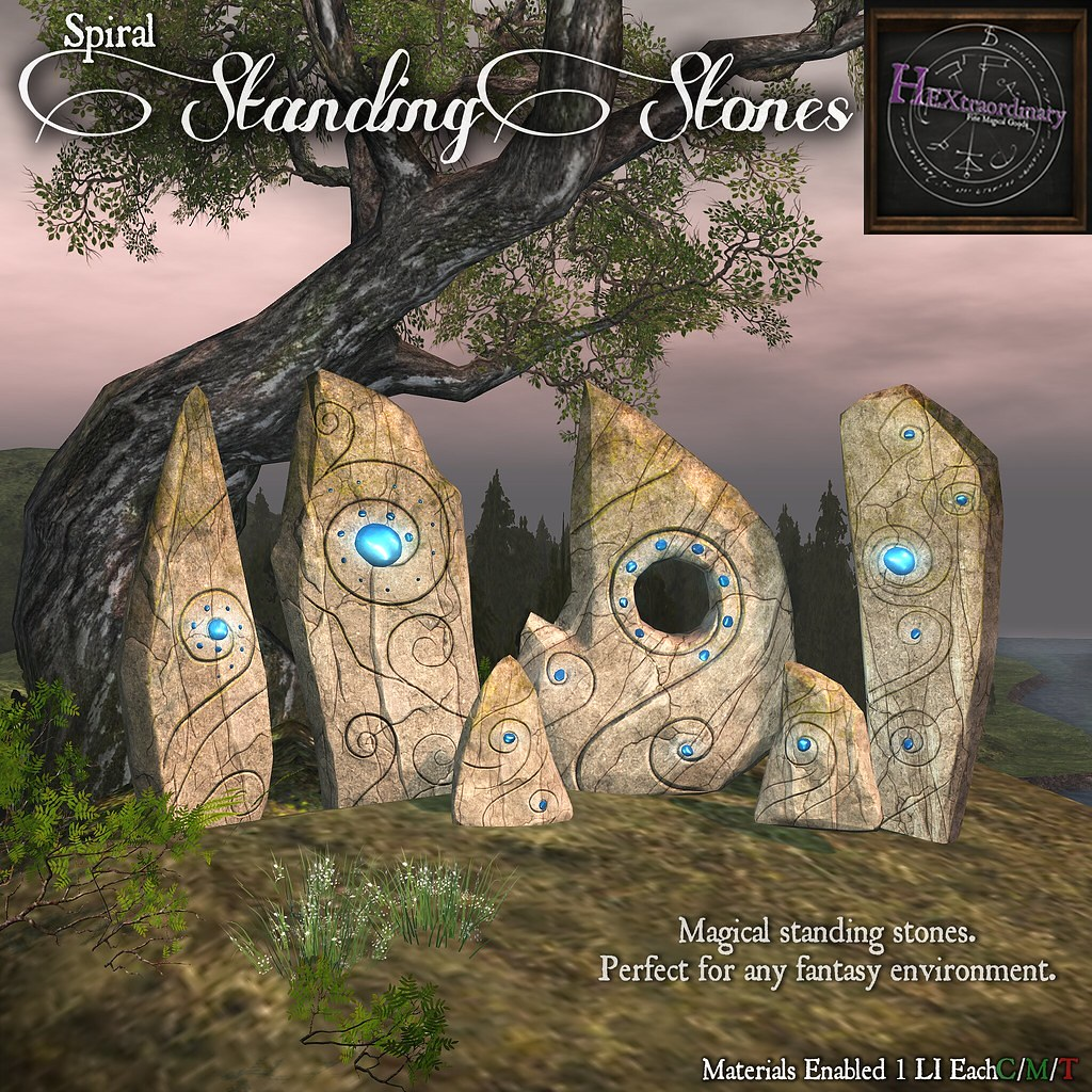 HEXtraordinary ~ Spiral Standing Stones for Wanderlust Weekend 50L