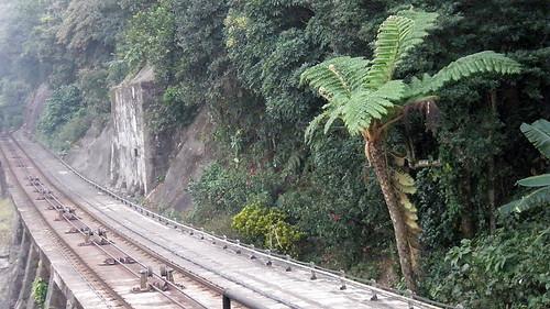 Railway to the Peak of Hong Kong