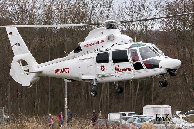 D-HFVP Johanniter Luftrettung Aerospatiale AS-365 N3 Dauphin