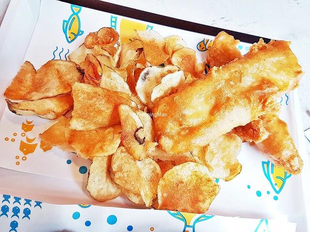 Fish And Crisps Set Haddock