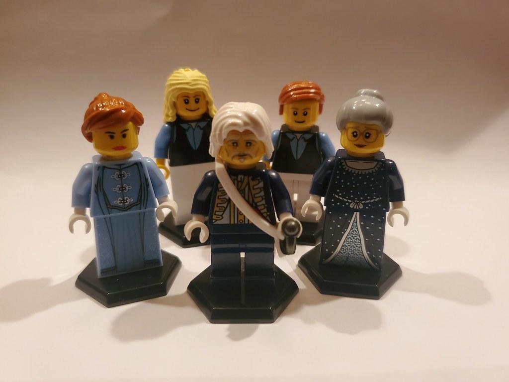 Sebire Family and Servants