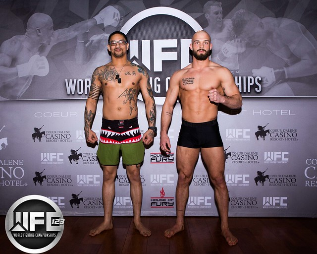 WFC 123 3/6/20 Weigh-Ins at Coeur D'Alene Casino
