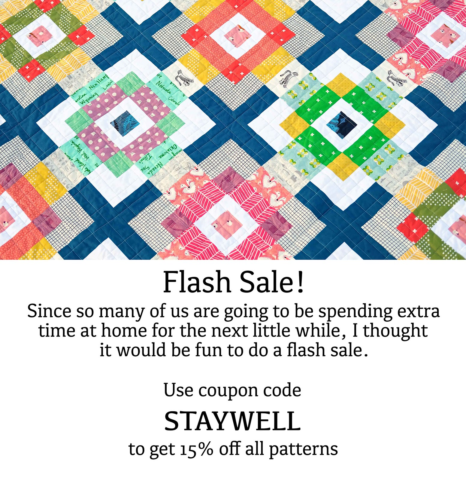 Kitchen Table Quilting Flash Sale