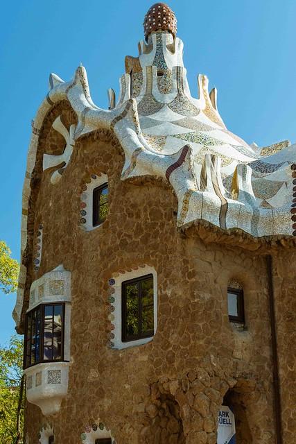 2019-11 10 Park Güell, Barcelona, Spain.