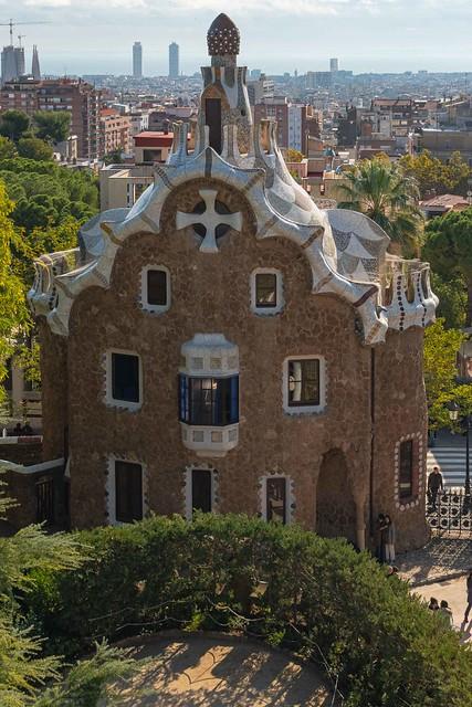 2019-11 11 Park Güell, Barcelona, Spain.