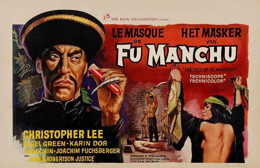 Affiche du film Le Masque de Fu Manchu (Don Sharp, 1965)