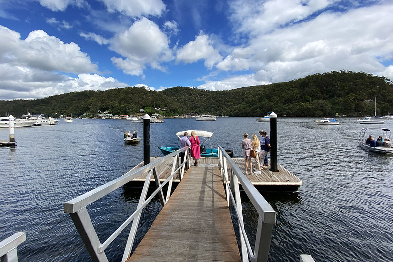 Berowra Waters wharf