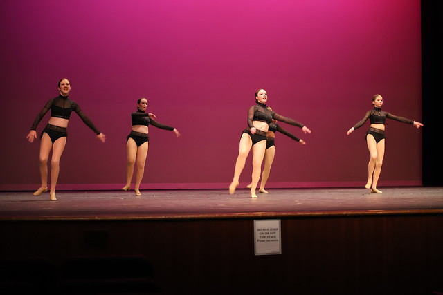 Rehearsal for Ann Arbor Dance Classics 2020 Benefit Show (Saline High School, Michigan)