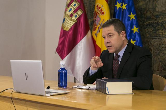 Videoconferencia de presidentes autonómicos para abordar el problema de coronavirus