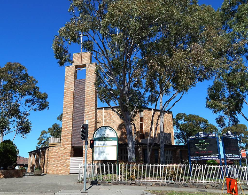 Our Lady Queen of Peace Catholic Church, Greystanes, Sydney, NSW.