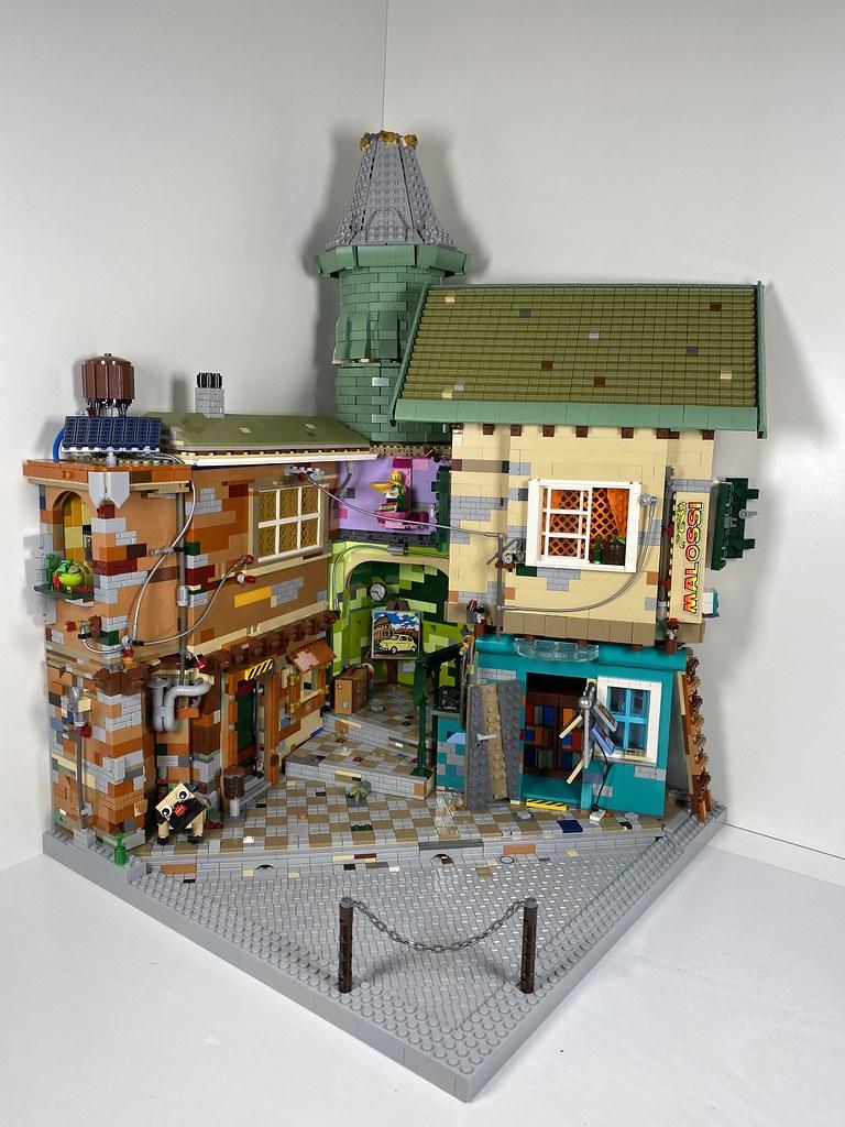 LEGO Moc Fiat 500 Bella Italia Diorama