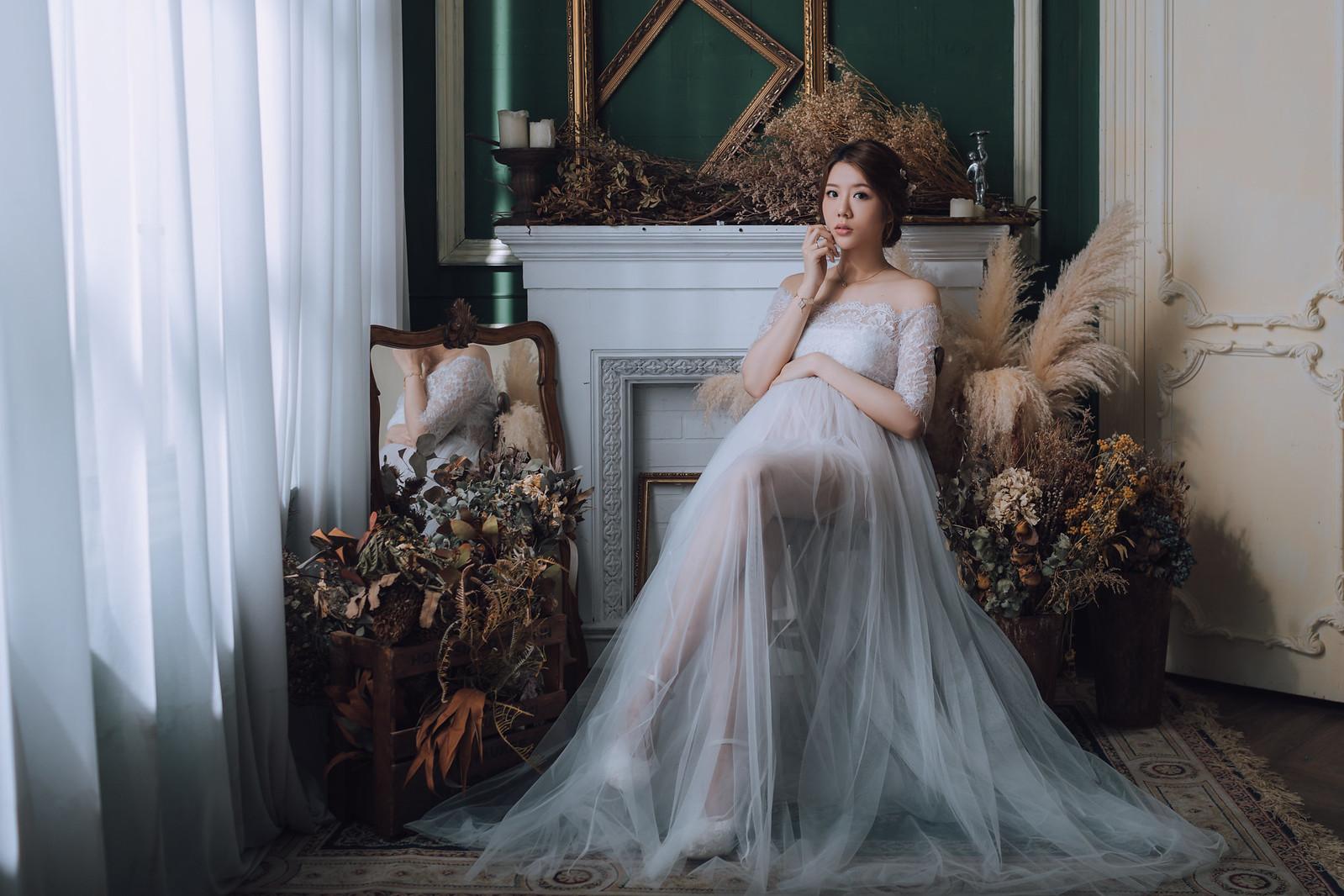 《孕婦寫真》Vivian / 攝影師 Eric Yeh / 良大攝影工作室