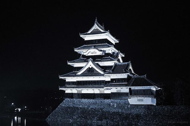 Matsumoto Castle (松本城, Matsumoto-jō), Matsumoto City, Nagano, Japan