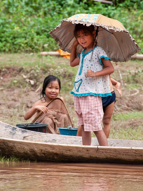 Sourires d'enfants ...Laos