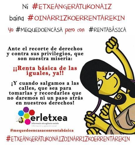 Yo #MEQUEDOENCASA pero con #RENTABÁSICA