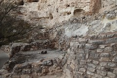 Montezuma Castle suffered extensive looting