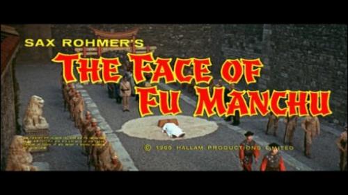 Le Masque de Fu Manchu (Don Sharp, 1965) title still