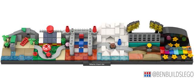 LEGO Mario Kart 64 Skyline [4]