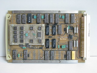 Thermal observation & gunnery sight symbology processor board 8