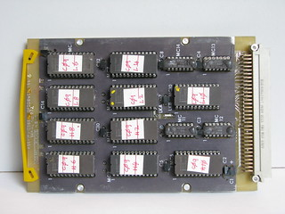 Thermal observation & gunnery sight symbology processor board 9