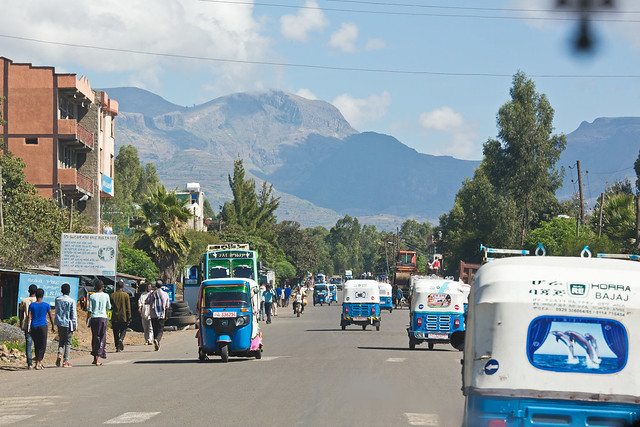 Heading north to Gondar, Ethiopia