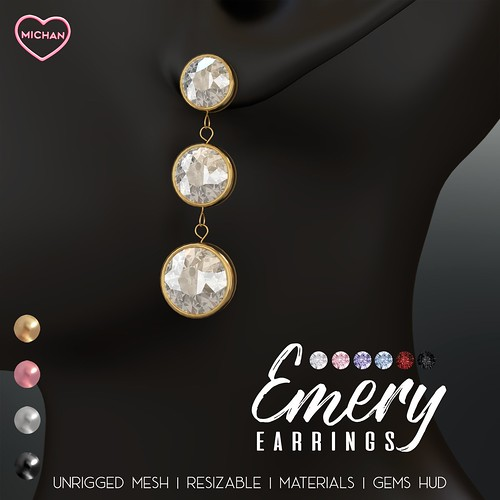 Emery Earrings @ The Saturday Sale