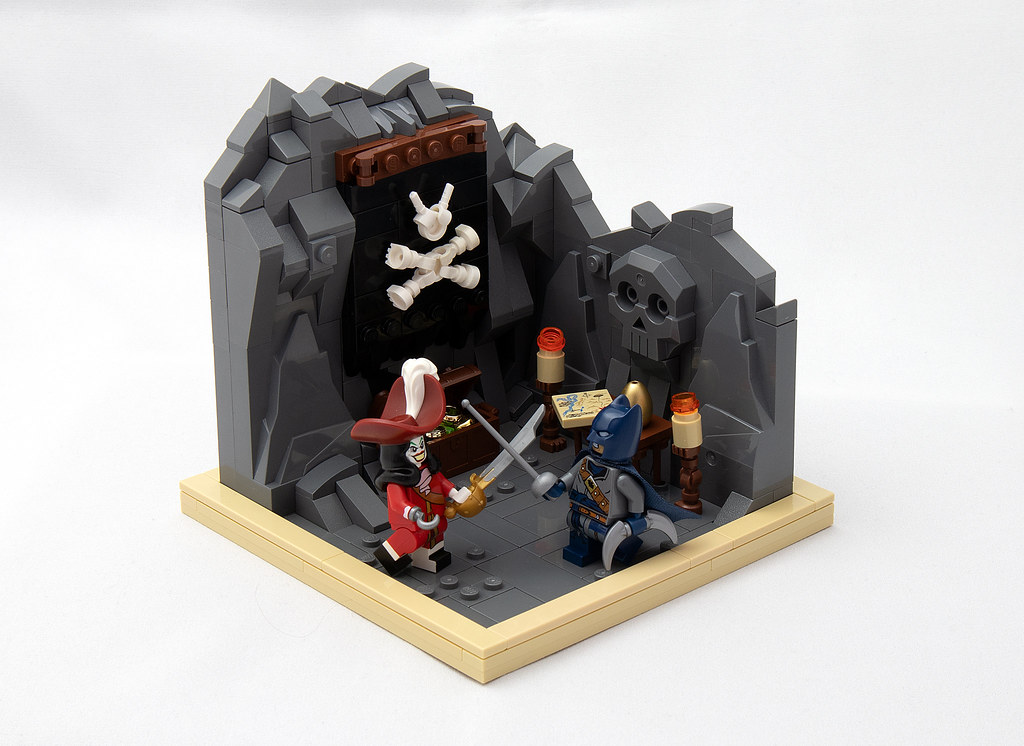 LEGO® MOC by vitreolum: Duel in the Batcove