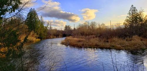 kitsappeninsula thelerwetlands unionriver hoodcanal hightide sunset cloudsstormssunsetssunrises