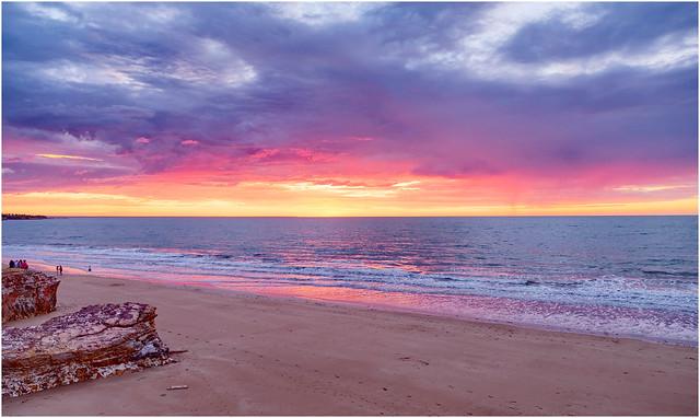 Timor Sea Sunset - Darwin Harbour, NT, Australia