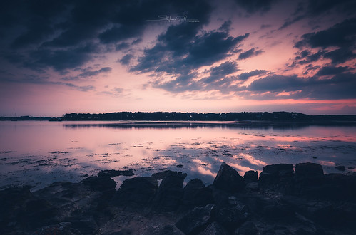 anse france paysage pentax pentaxk3ii blending bretagne couchant coucherdesoleil eau golfedumorbihan landscape morbihan rochers sigma1020f45 sunset toulvern water