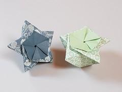 Tiny pentagonal tato-box