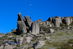 Rocky outcrops - Mount Kosciusko National Park