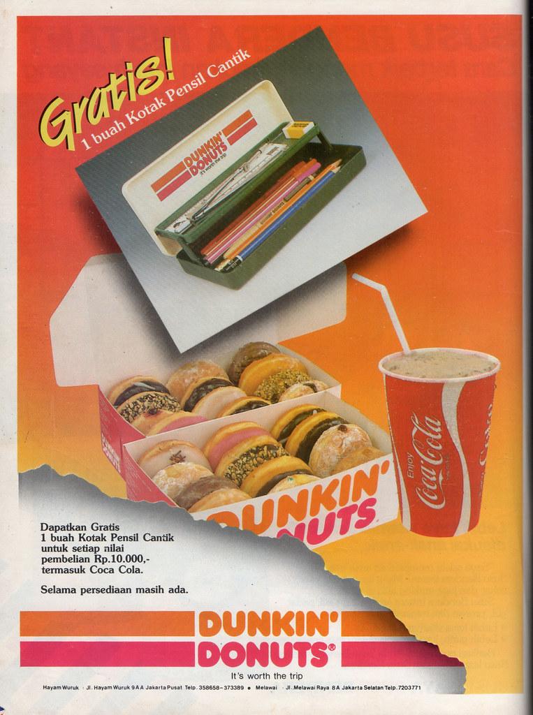 Dunkin' Donuts - Kartini, 25 Juli 1988