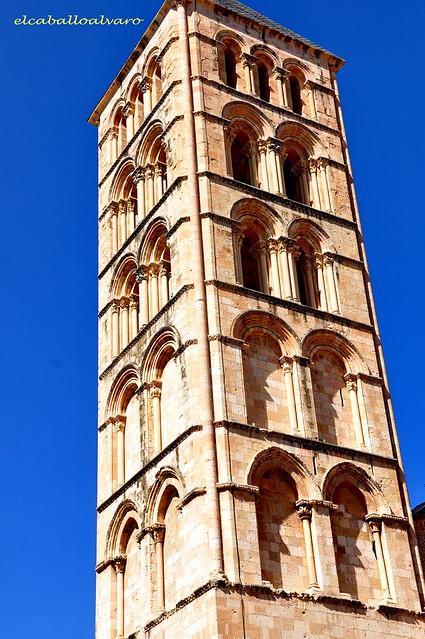 704 – Torre - Iglesia San Esteban – Segovia - Spain.