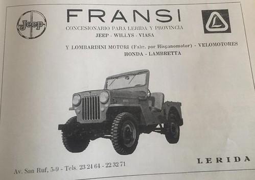 publicitat Fransii Jeep Lleida
