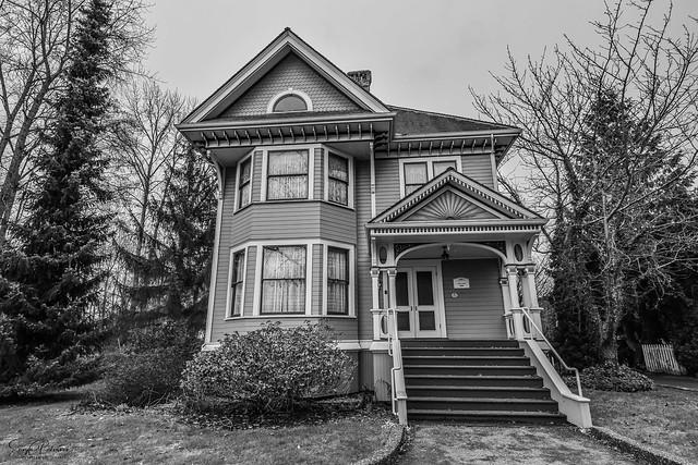 Burr House (Burvilla) circa. 1906 - Delta, BC