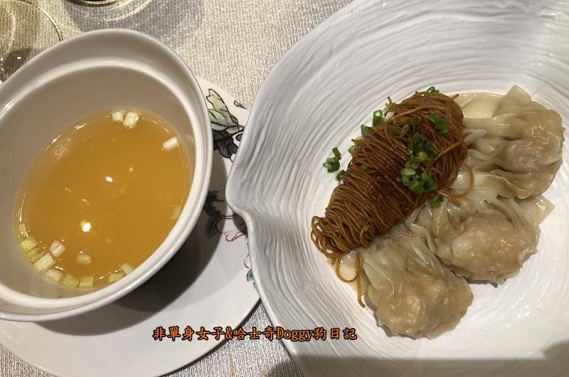 君品酒店颐宮米其林三星22雲吞撈蝦子麵