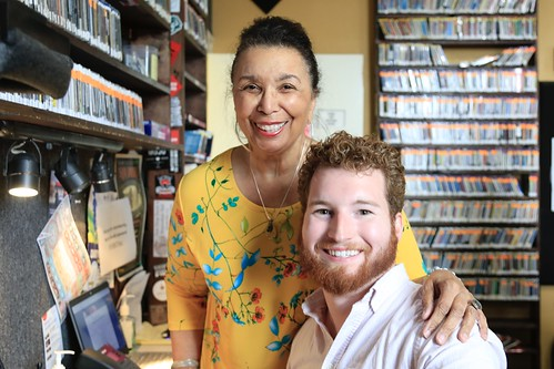 Veronica Cromwell and Ian Roche - March 11, 2020. Photo by Michele Goldfarb.