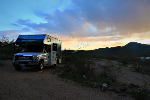 blog 2020 ratsofrass desert hike sunset rv