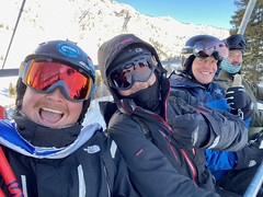 It's a #HappyFriday at  @Snowbird  with @saturnism and @brettgpalmer!