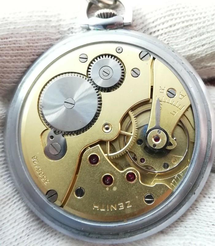 2 montres de poches Zenith se rajoutent à ma collection de Zenith 49662146497_c58da1c732_c
