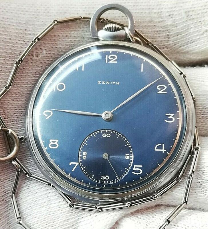 2 montres de poches Zenith se rajoutent à ma collection de Zenith 49662146522_972e416387_c