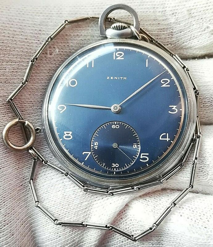 2 montres de poches Zenith se rajoutent à ma collection de Zenith 49662146622_ffbbd0c384_c