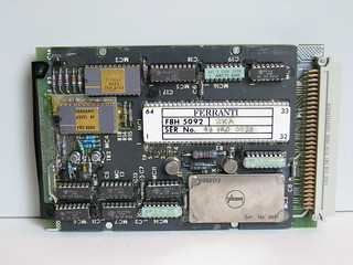 Thermal observation & gunnery sight symbology processor board 1